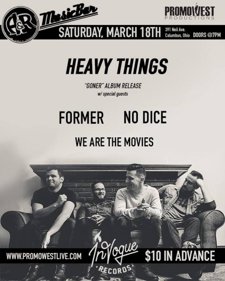 Heavy Things Tour Dates