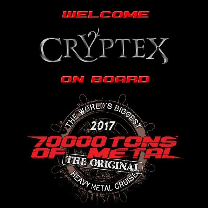 Cryptex Tour Dates