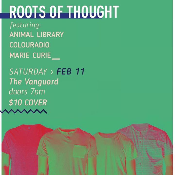 Roots of Thought Tour Dates