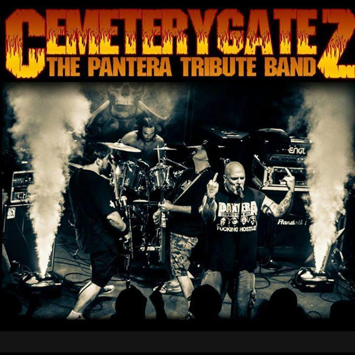 Cemetery Gatez (The Pantera Tribute Band) Tour Dates