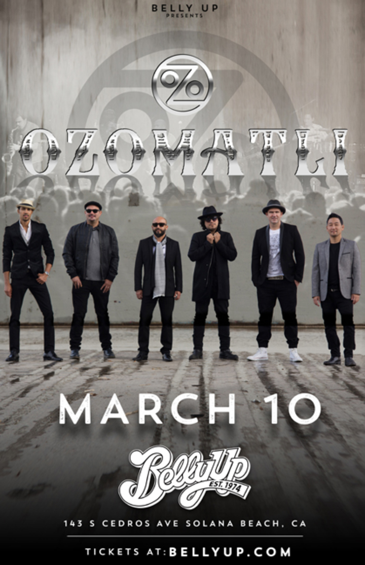 Ozomatli @ Belly Up - Solana Beach, CA