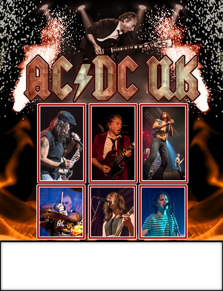 AC/DC UK @ Gibson Hall - Garelochhead, United Kingdom