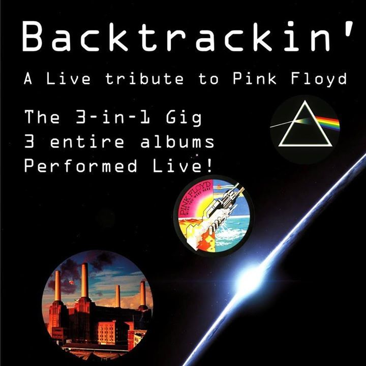 Backtrackin' -  Pink Floyd Tribute band Athens Tour Dates
