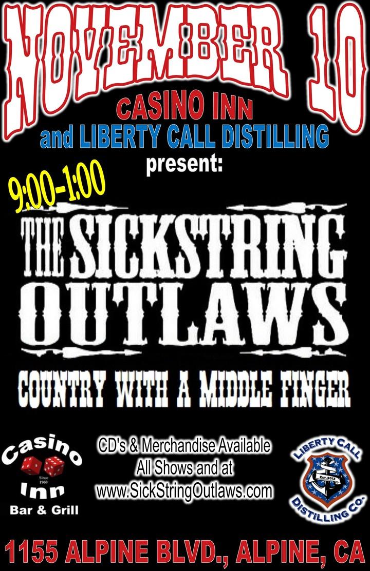 The Sickstring Outlaws @ Casino Inn - Alpine, CA