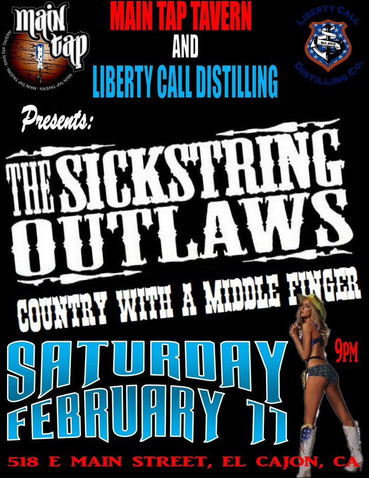 The Sickstring Outlaws @ Main Tap Tavern - El Cajon, CA