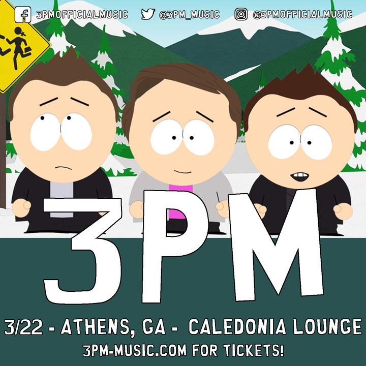 3PM @ Caledonia Lounge - Athens, GA