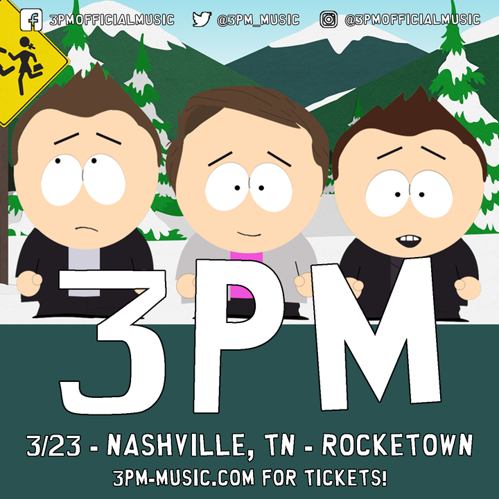 3PM @ Rocketown - Nashville, TN