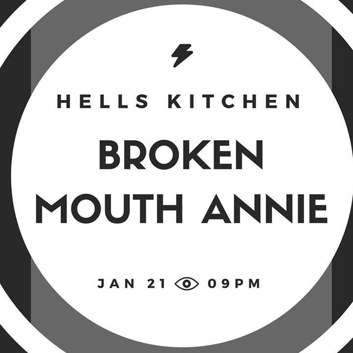 Broken Mouth Annie Tour Dates