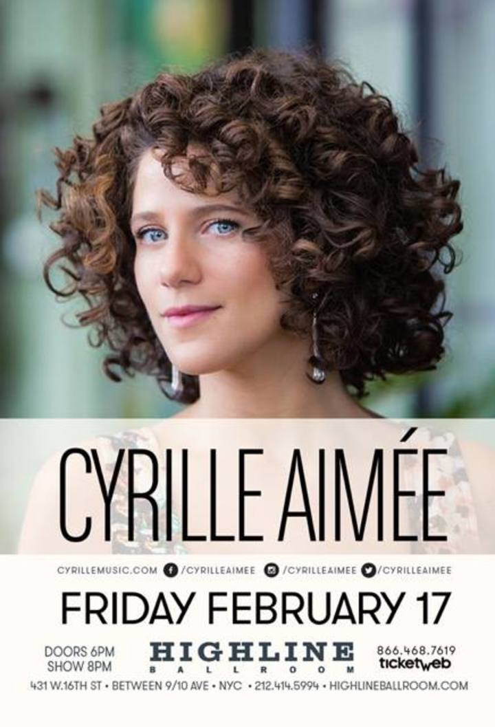 Cyrille Aimée @ Massry Center for the Arts at The College of Saint Rose - Albany, NY