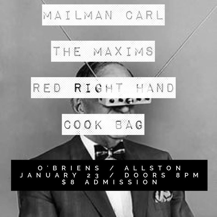 The Maxims Tour Dates