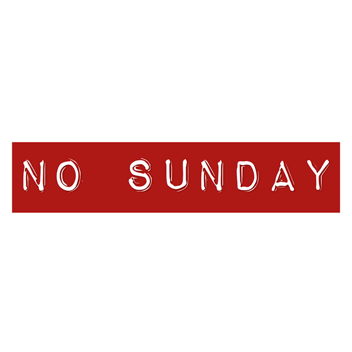 No Sunday Tour Dates