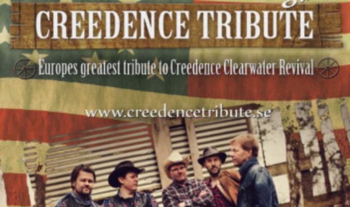 CREEDENCE TRIBUTE @ Hallstaberget  - Solleftea, Sweden