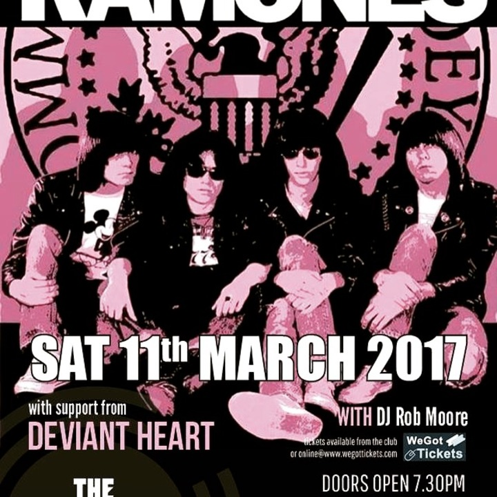 UK RAMONES @ Rifle Club - Portsmouth, United Kingdom