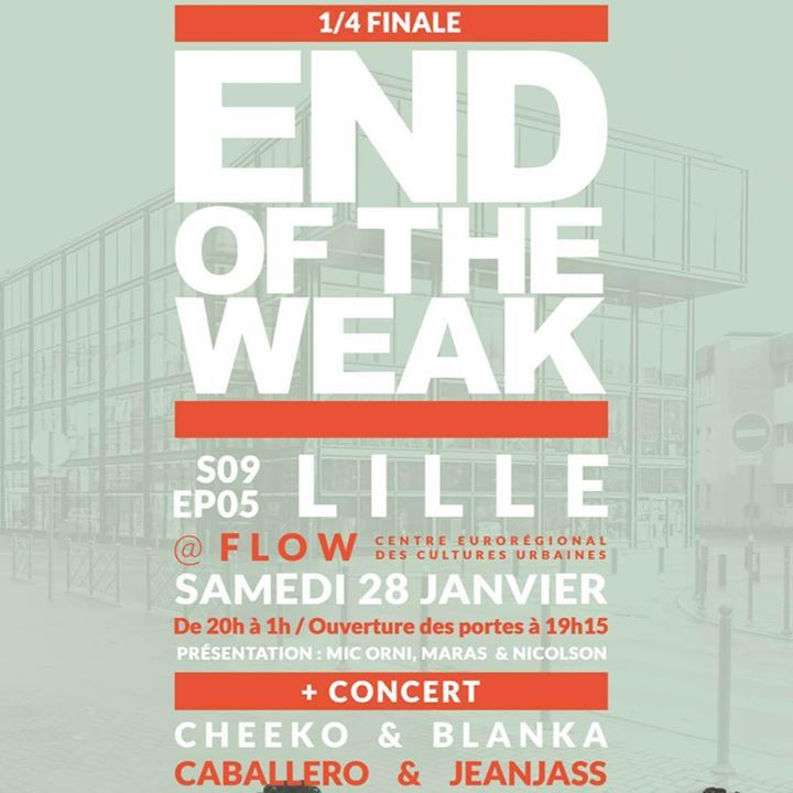 End Of the Weak France Tour Dates