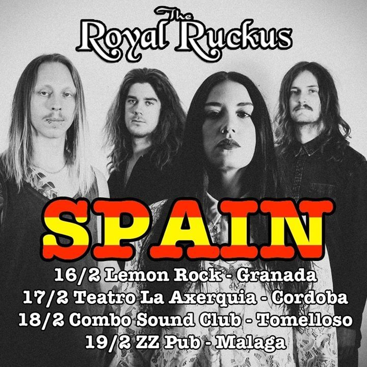 Royal Ruckus Tour Dates
