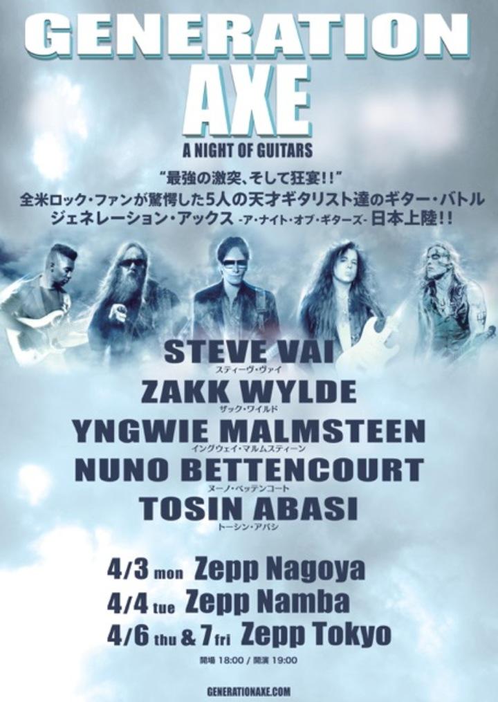 Zakk Wylde @ Zepp Nagoya - Nagoya, Japan