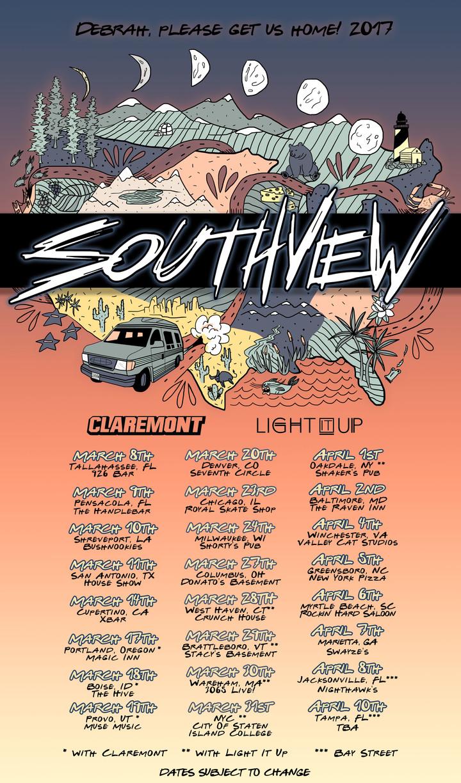 Southview Tour Dates