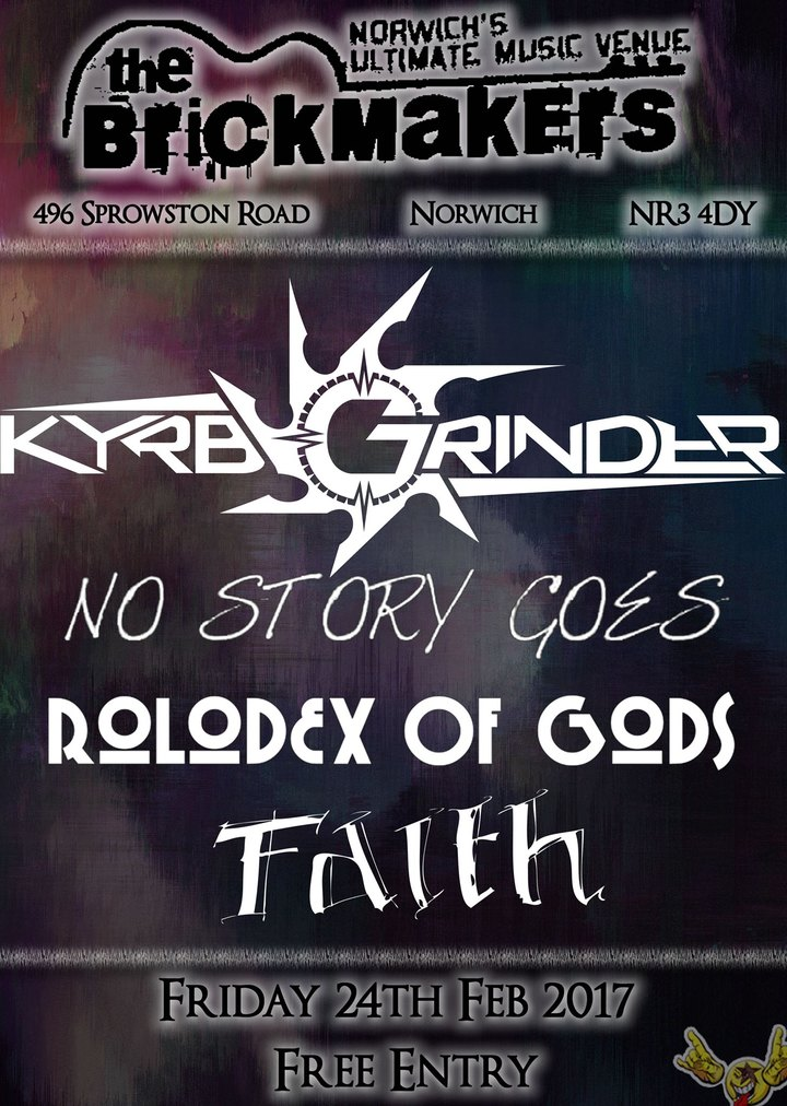 Kyrb Grinder @ The Brickmakers B2 - Norwich, United Kingdom