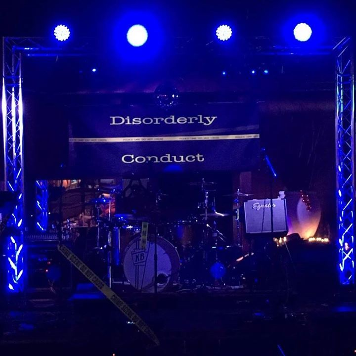 Disorderly Conduct Band Tour Dates