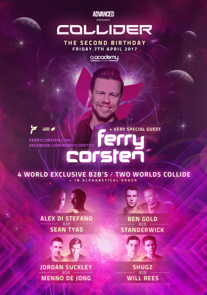 Ferry Corsten @ O2 Academy - Bournemouth, United Kingdom
