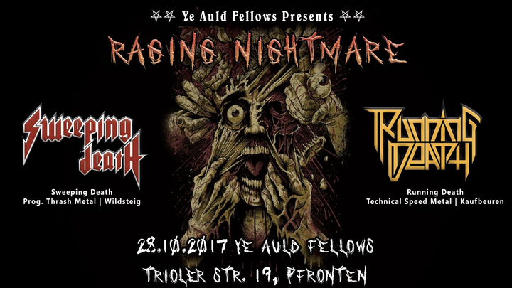 Sweeping Death @ Ye Auld Fellows - Pfronten, Germany