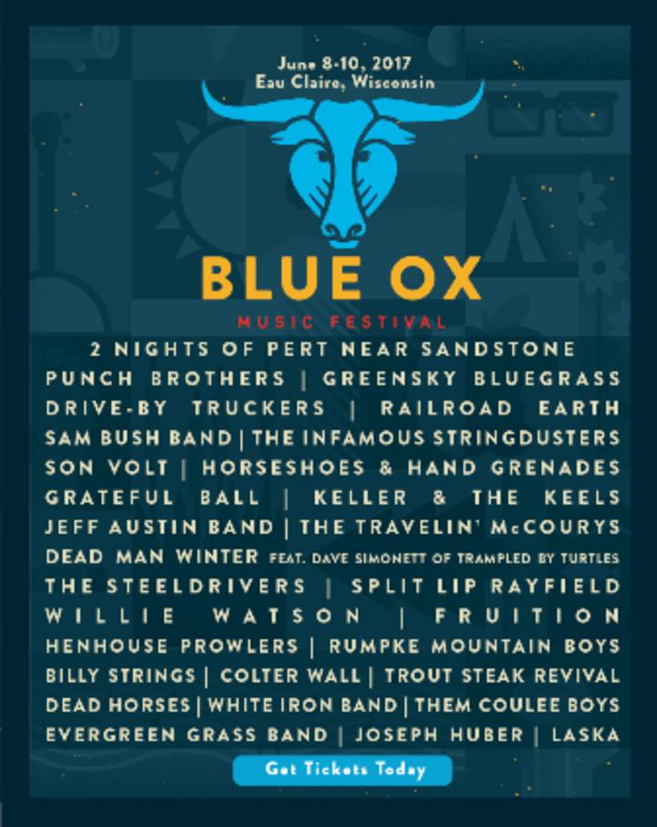 Larry Keel @ BLUE OX MUSIC FESTIVAL - Eau Claire, WI