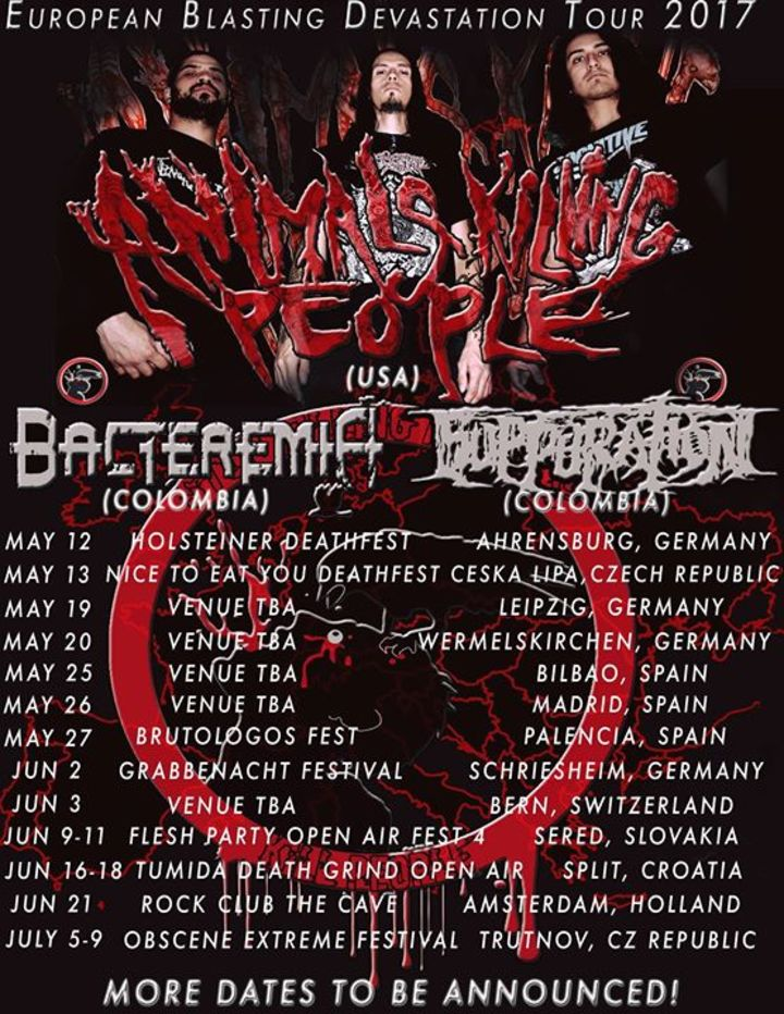 Animals Killing People Tour Dates