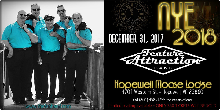 The Feature Attraction Band @ Hopewell Moose Lodge - Hopewell, VA