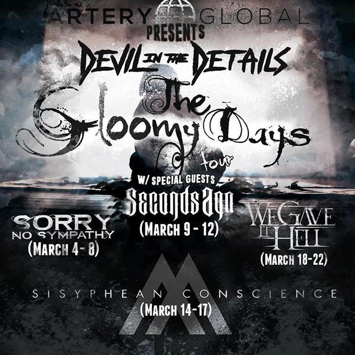 Devil In The Details Tour Dates