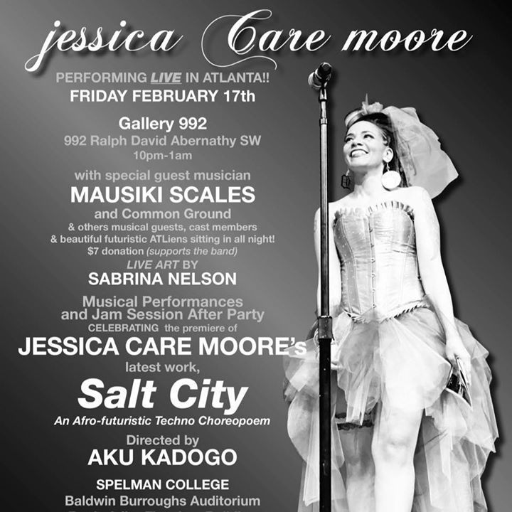 Jessica Care Moore Tour Dates