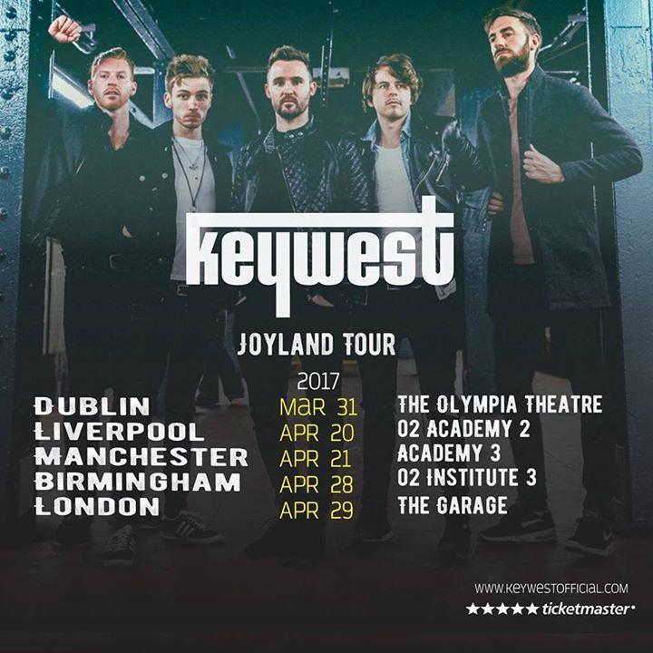 keywestofficial Tour Dates
