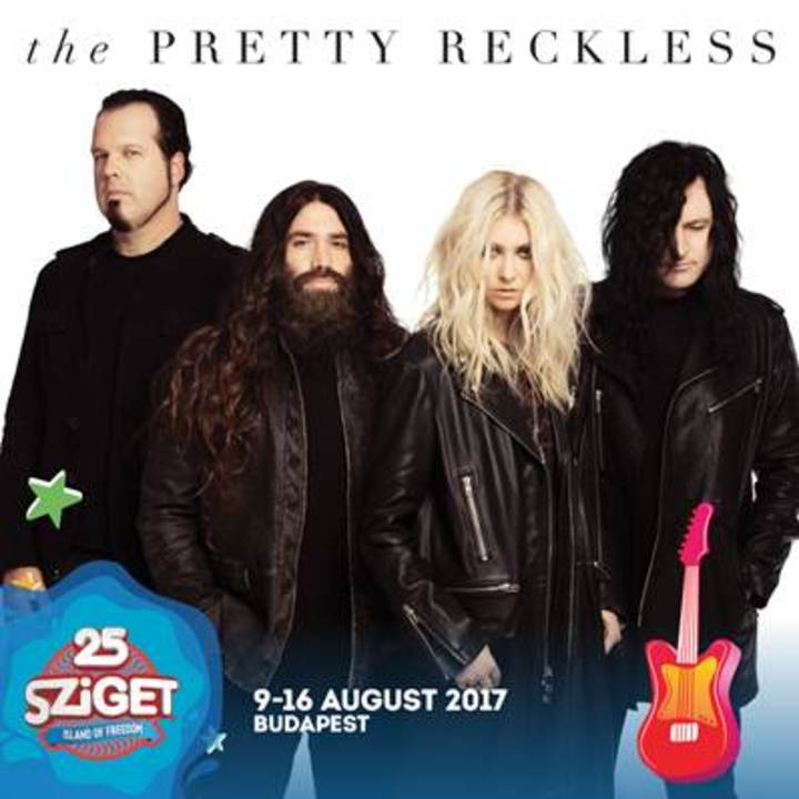 The Pretty Reckless @ ISLAND OF FREEDOM - Budapest, Hungary