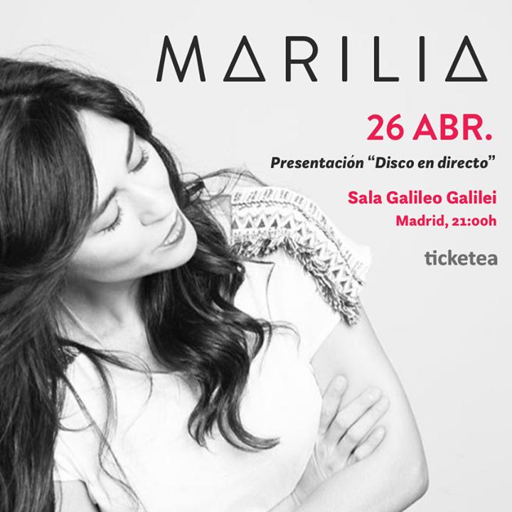 Marilia Andrés Oficial Tour Dates
