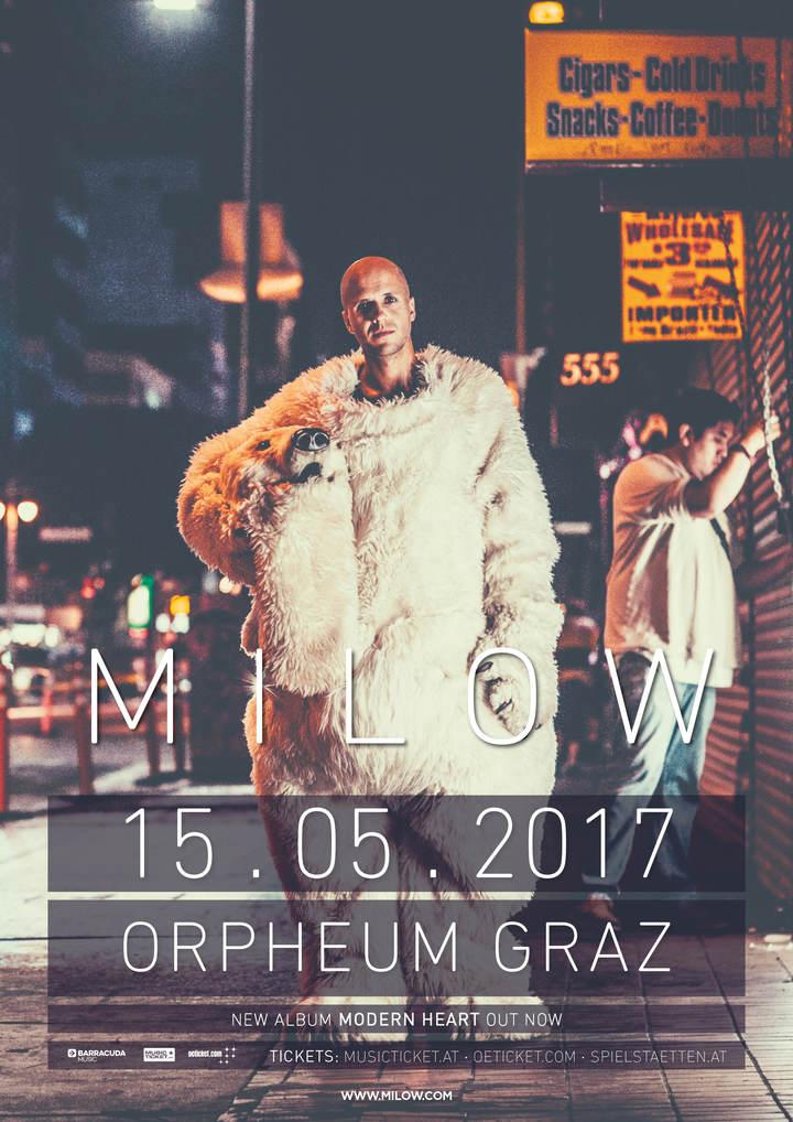 Milow @ Orpheum Graz - Graz, Austria