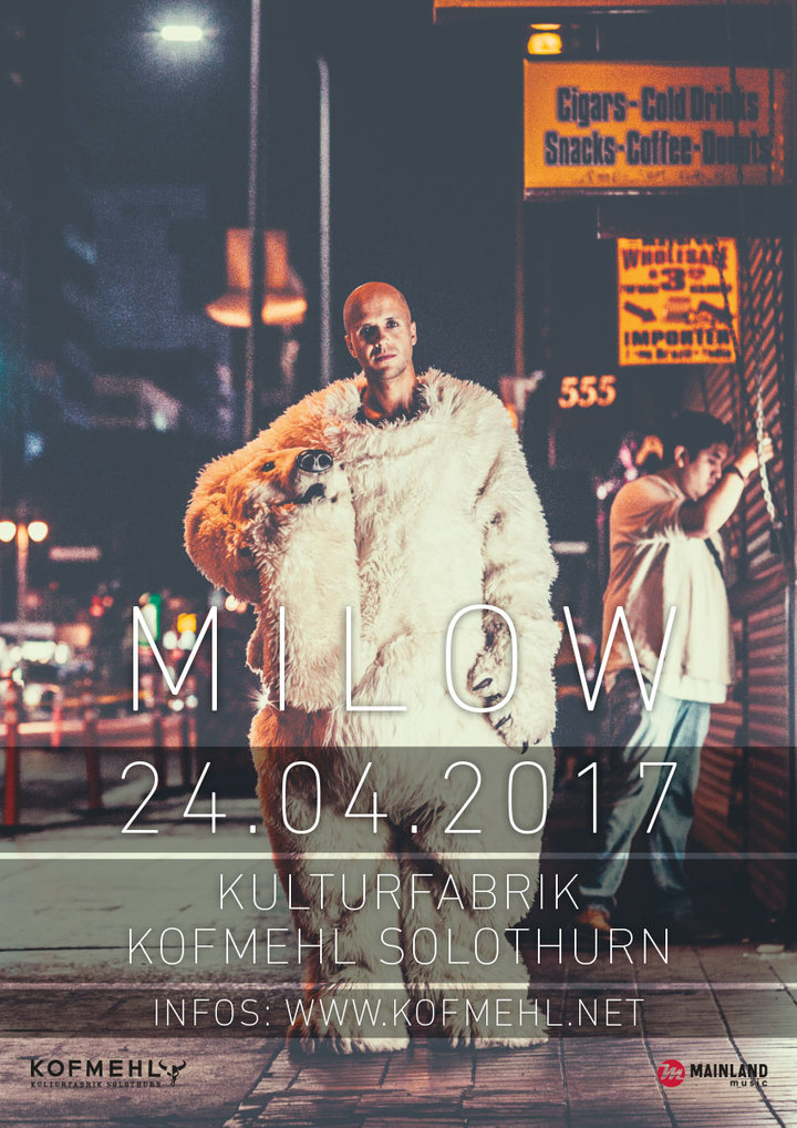 Milow @ Kofmehl - Solothurn, Switzerland