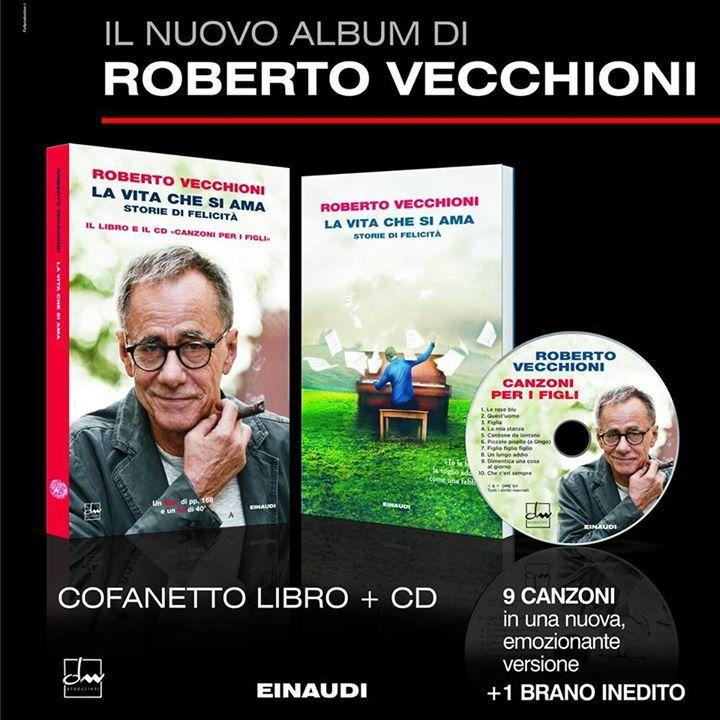 Roberto Vecchioni @ Teatro Romolo Valli - Reggio Emilia, Italy