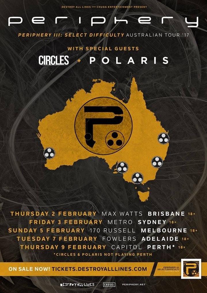Circles Tour Dates