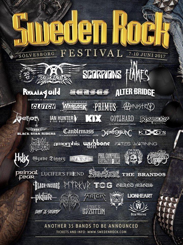 King's X @ Sweden Rock Festival - Solvesborg, Sweden