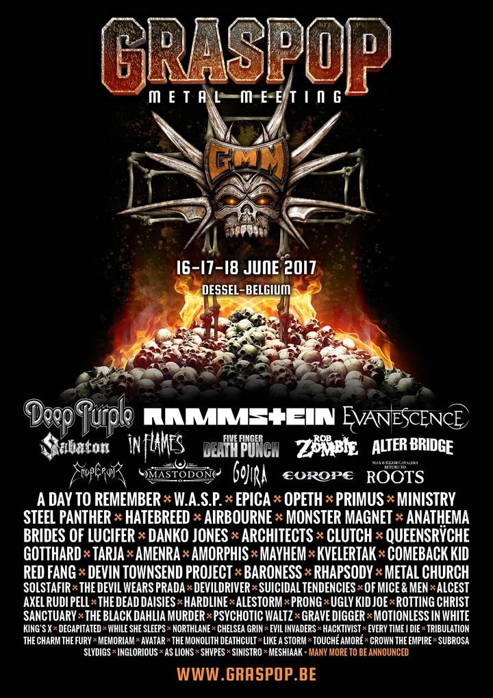 King's X @ Graspop Metal Meeting 2017 - Dessel, Belgium