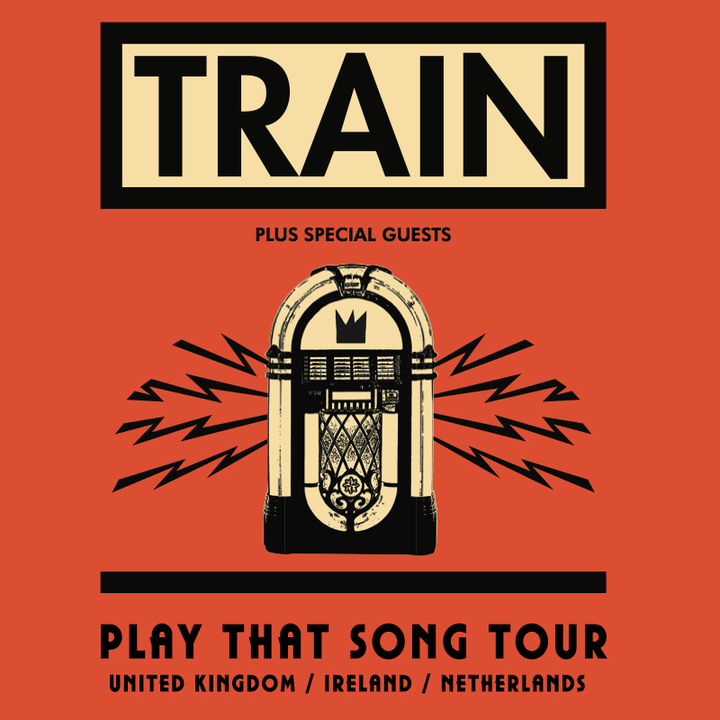 Train @ AFAS Live  - Amsterdam, Netherlands