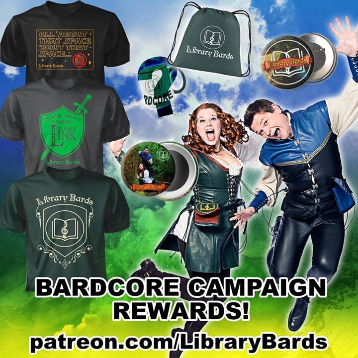 The Library Bards Tour Dates