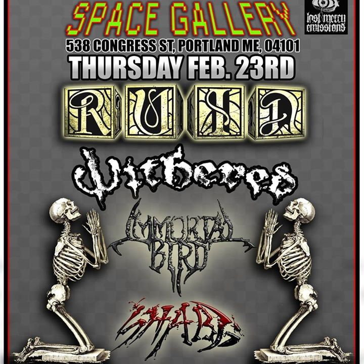 Ruin Tour Dates