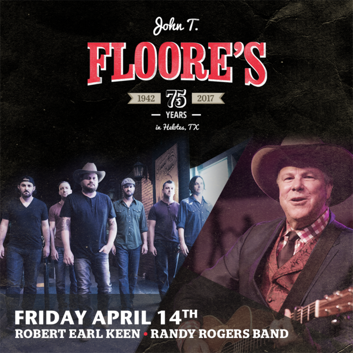 Randy Rogers Band Tickets John T Floore Country Store