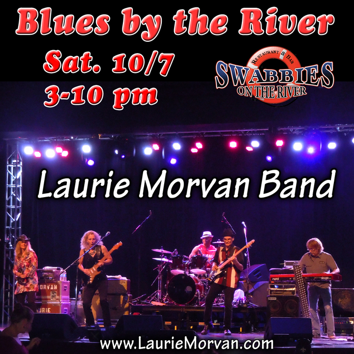 Laurie Morvan Band @ Blues By The River at Swabbies - Sacramento, CA