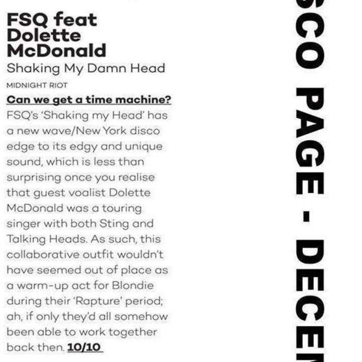 FSQ Tour Dates