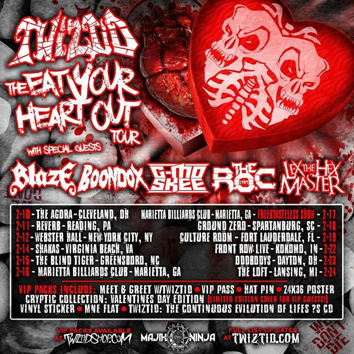 Iamtheroc Tour Dates