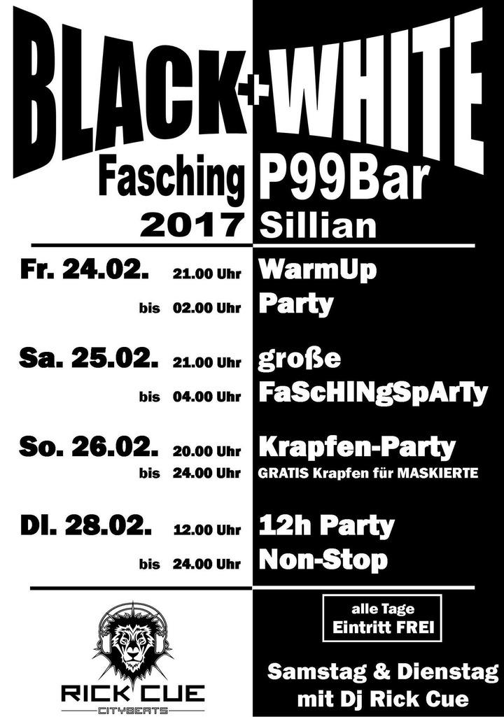 Rick cue @ P99 Faschingsdienstag 12 Stunden Non-stop - Sillian, Austria