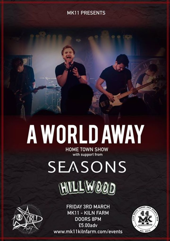 A World Away Tour Dates