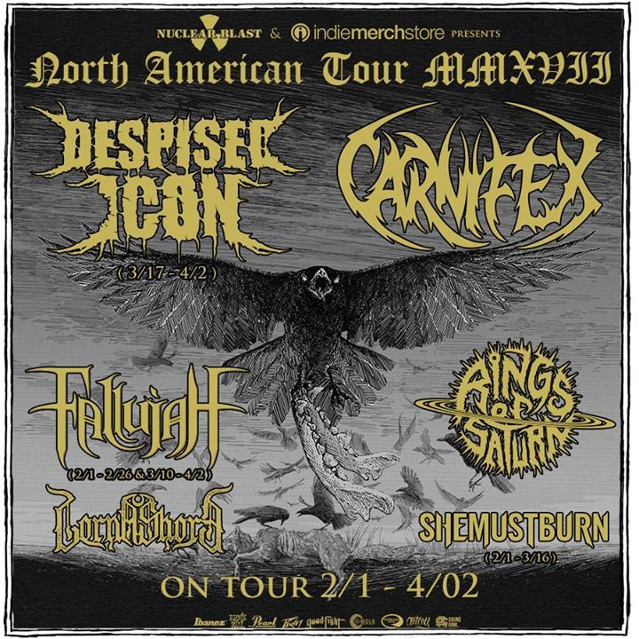Despised Icon Tour Dates