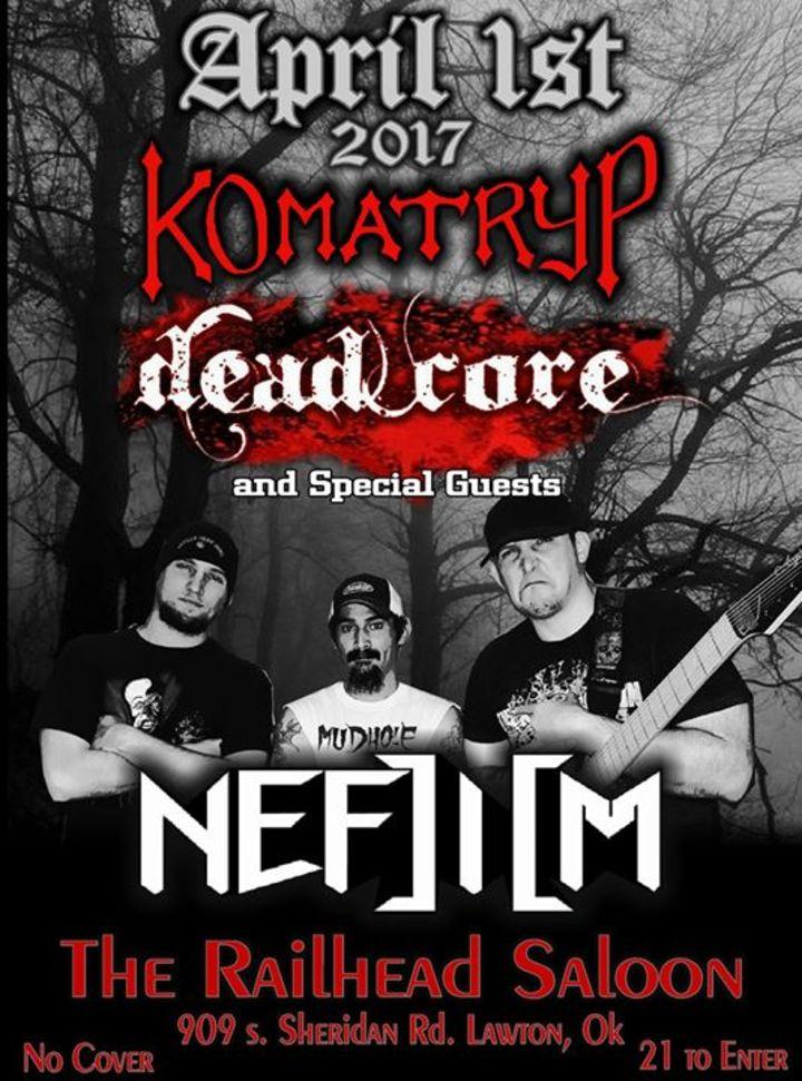 Komatryp Tour Dates